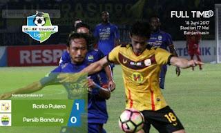 Barito Putera Sukses Kalahkan Persib Bandung 1-0