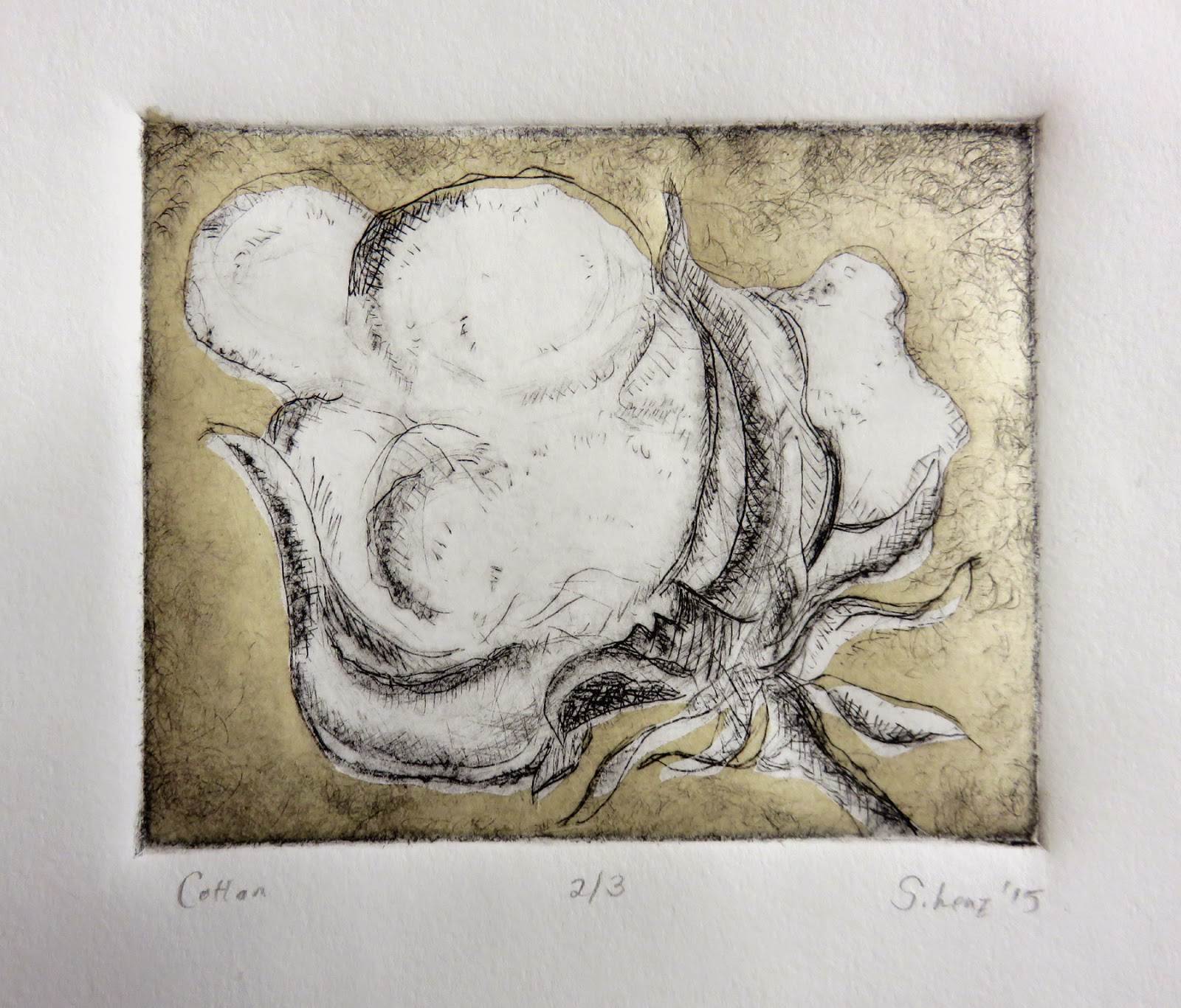 Art In Stitches: Drypoint workshop with Steven Chapp