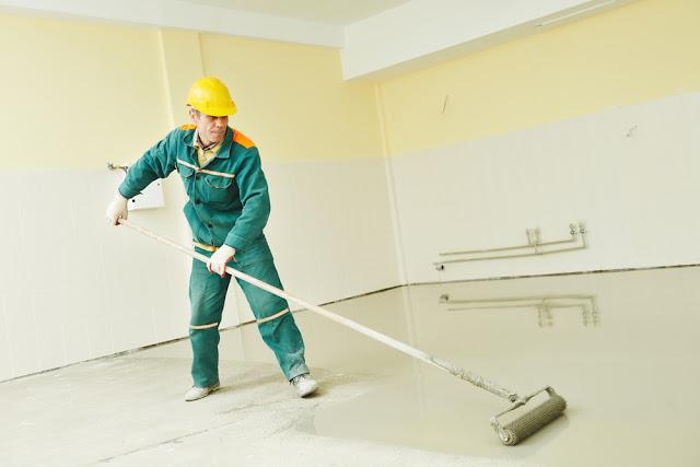 betonvloer, schilderen, vastmans frank, beton, kogelstralen