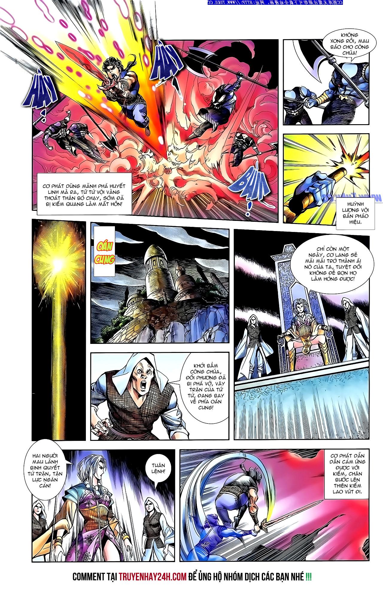 Cơ Phát Khai Chu Bản chapter 142 trang 26