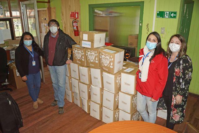 Donativos en Puyehue