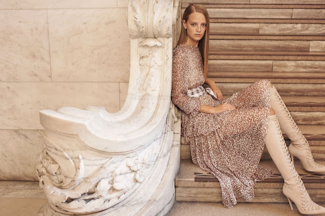 Ine Neef Models Super Luxe Style in Zimmermann's Spring 2017 Campaign