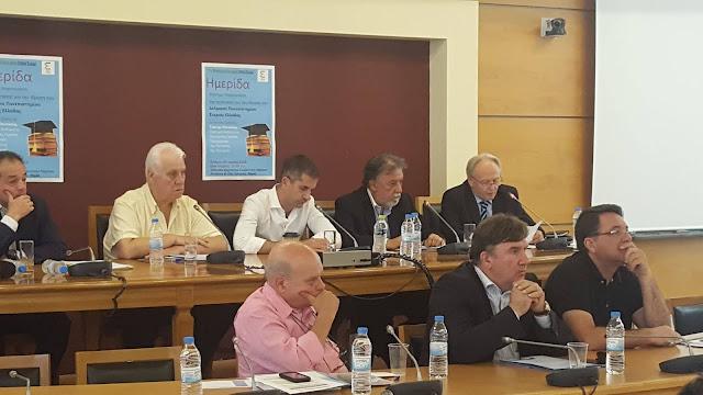 Στη Λαμία για παρουσίαση της πρόταση για το Δελφικό Πανεπιστήμιο ο Γ.Ανδριανός