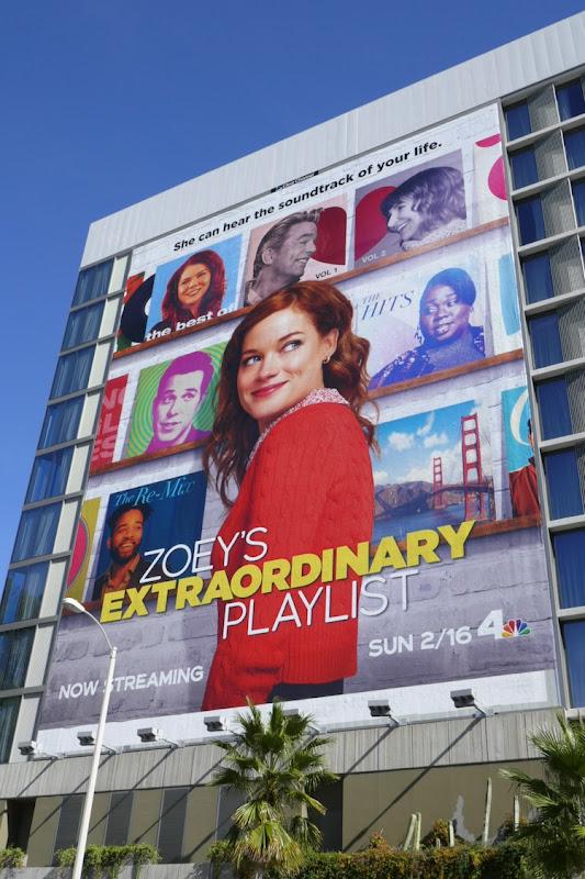 Giant Zoeys Extraordinary Playlist series billboard