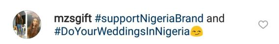 See What Annie Idibia Said To An IG User Who Sarcastically Made Reference To Her Destination Wedding 2