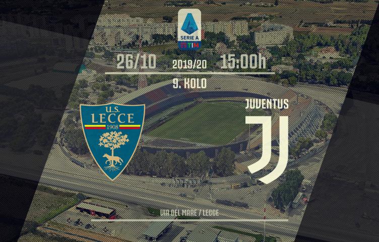 Serie A 2019/20 / 9. kolo / Lecce - Juventus, subota, 15:00h