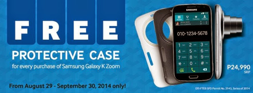 Buy Samsung Galaxy K Zoom with FREE Protective Case Until September 30