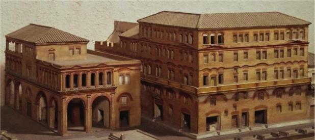 Casas romanas, propiedad y Derecho romano