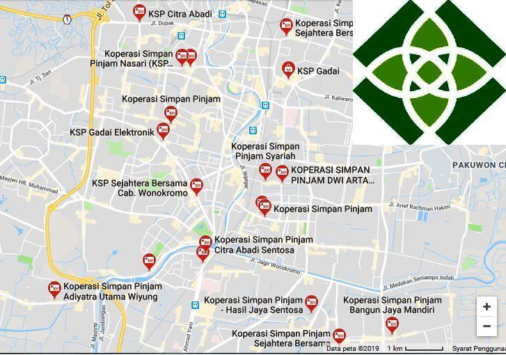 Kantor Koperasi Simpan Pinjam Surabaya Terpercaya