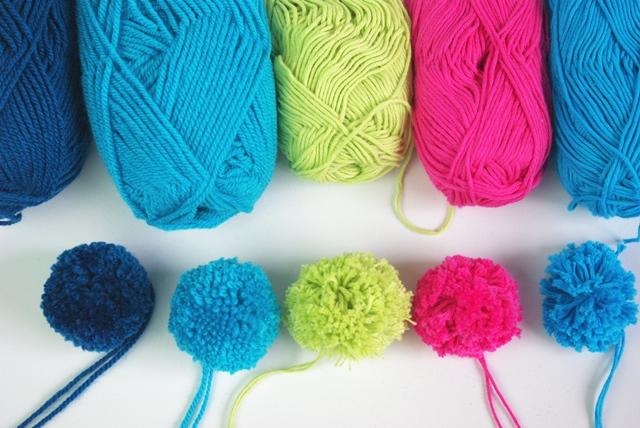 Pompoms selber machen - Welche Wolle?