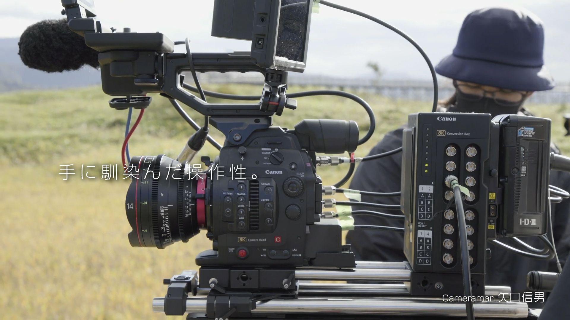 Кинокамера Canon
