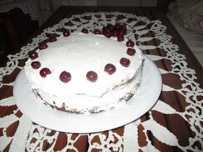 rozskenyér torta
