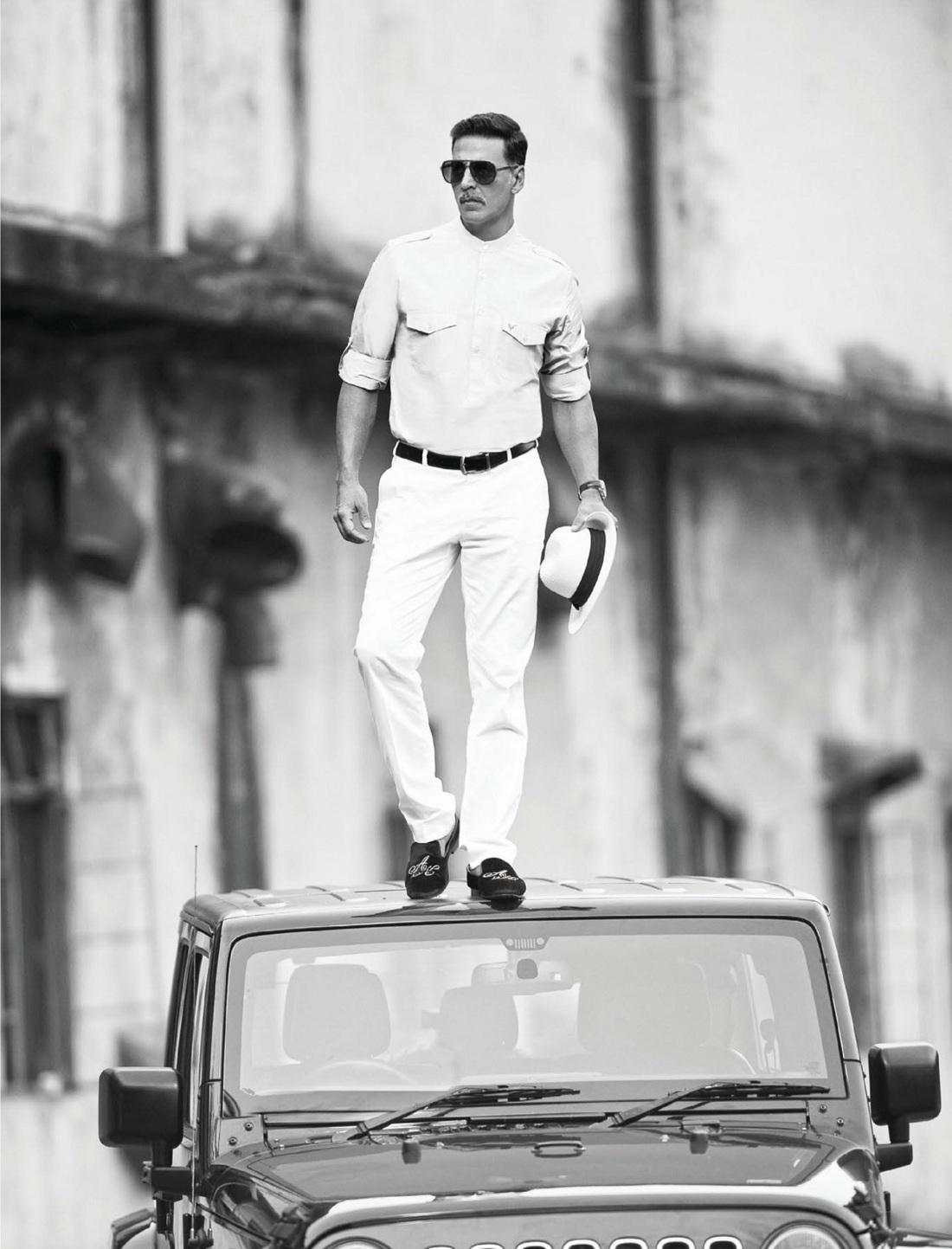 Akshay Kumar for Hi! Blitz Magazine February 2017 Dashing pics