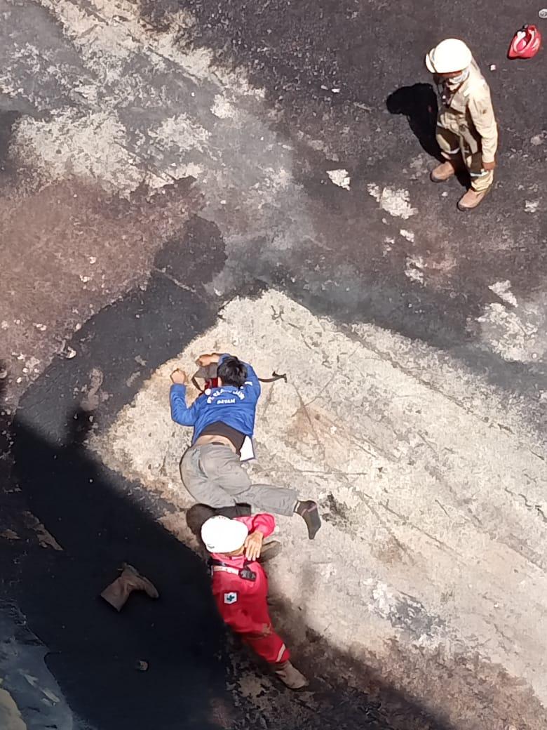 Seorang Karyawan Cleanning  Kapal Lady Vik Tewas Akibat Terjatuh Dari Dek Kapal di Area Batam Dock PT ASL Tanjung Uncang