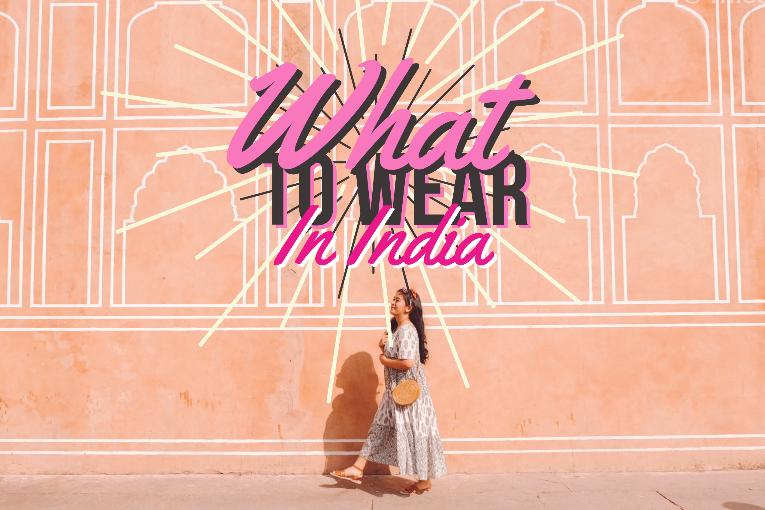 outfit liburan ke india