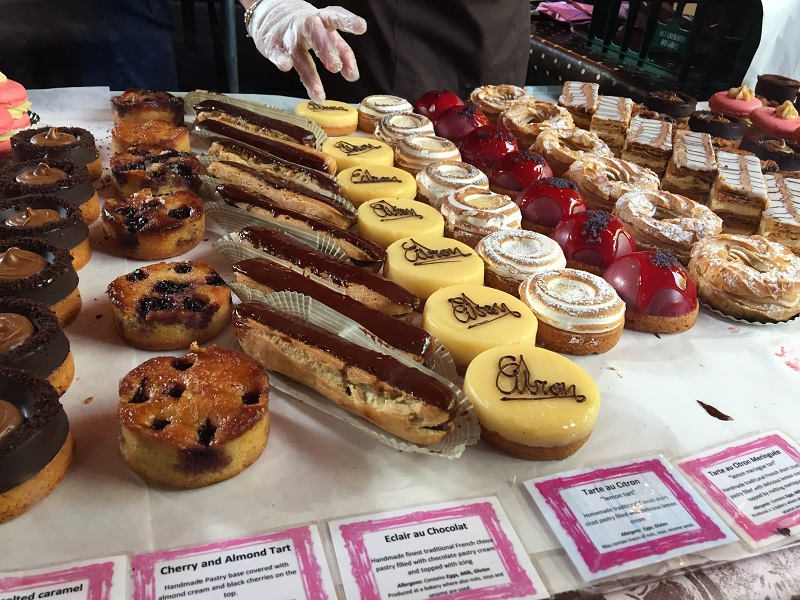 Patisserie at Borough Market