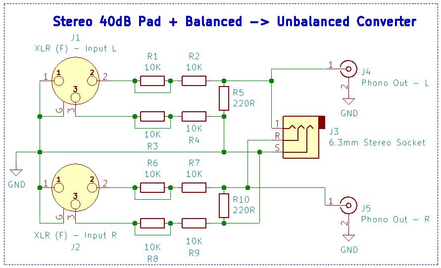 Eamonn U0026 39 S Ramblings  40db Stereo Pad   Balanced