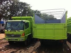 truk hino ranger bak besi surabaya
