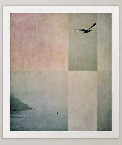 Interior trend 2015 - Pastels - Coastal Quiet Art Print