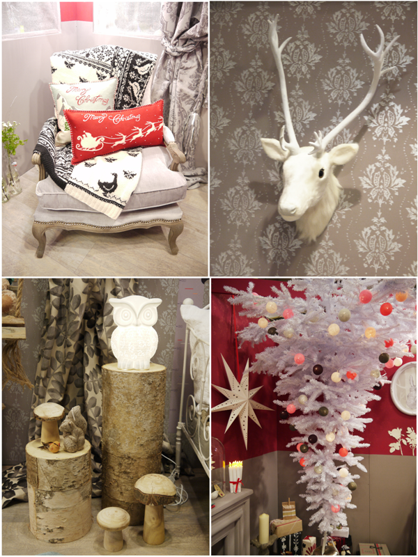 Christmas Party Decor Ideas from the Paris Craft Show - BirdsParty.com
