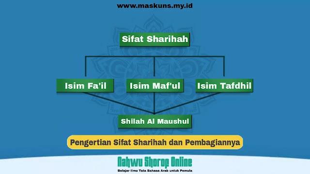 Pengertian Sifat Sharihah dan Pembagiannya