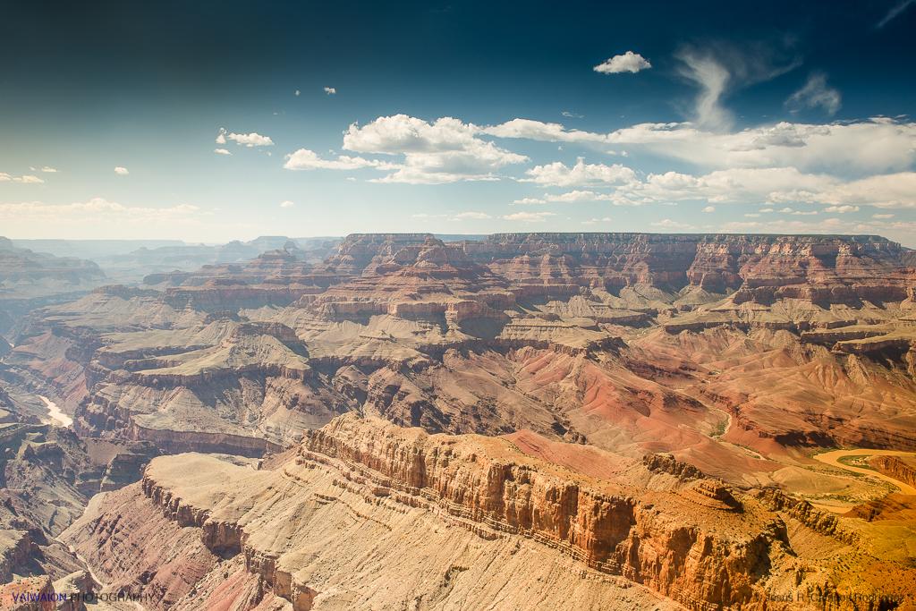 Hopi Point. Gran Cañón del Colorado.