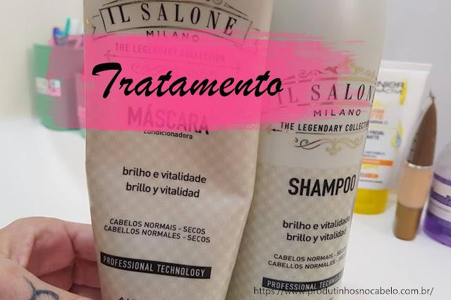 embalagem Il Salone Alfaparf Brilho e Vitalidade
