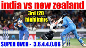 India vs New Zealand 3rd T20I highlights