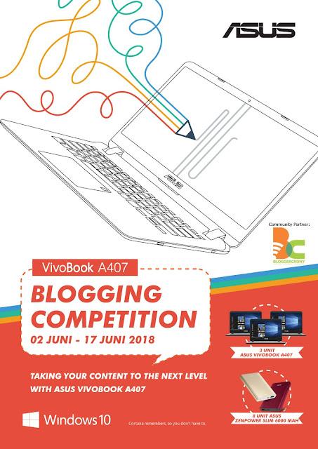 Dapat Laptop Gratis? Yuk Ikutan Lomba Asus Blog Competition