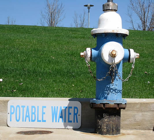 Potable water hydrant