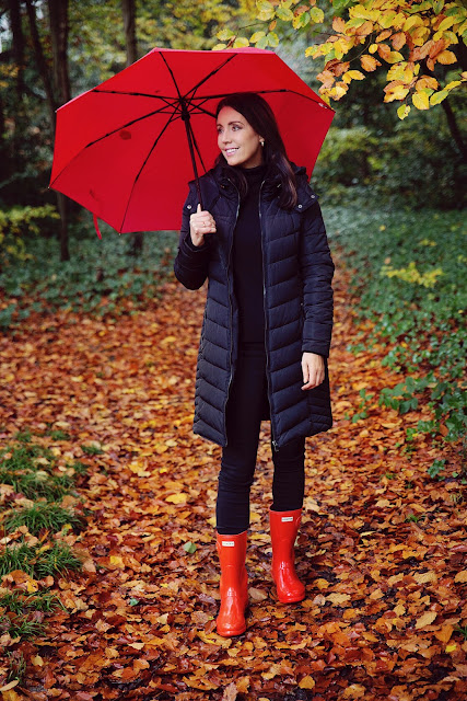 red wellies outfit