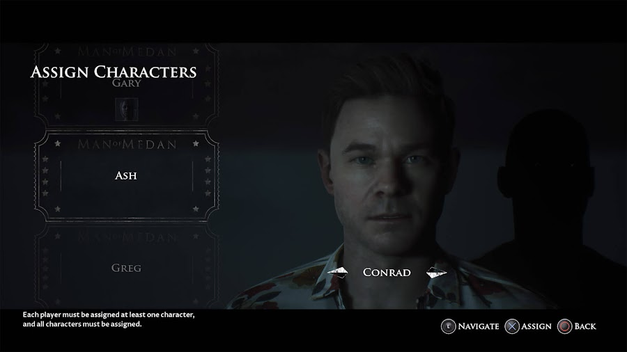 man of medan multiplayer movie night mode assign characters supermassive games pc ps4 xbox