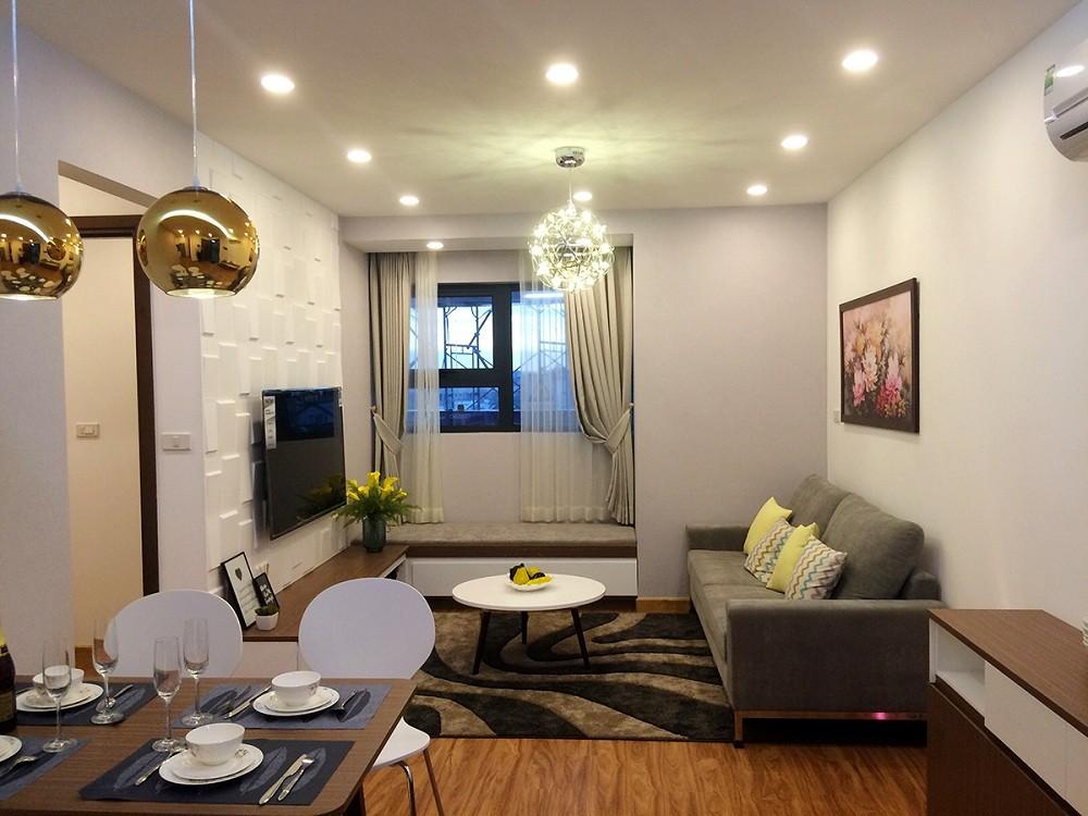 Thiết kế căn hộ hợp lý và đa dạng các loại diện tích