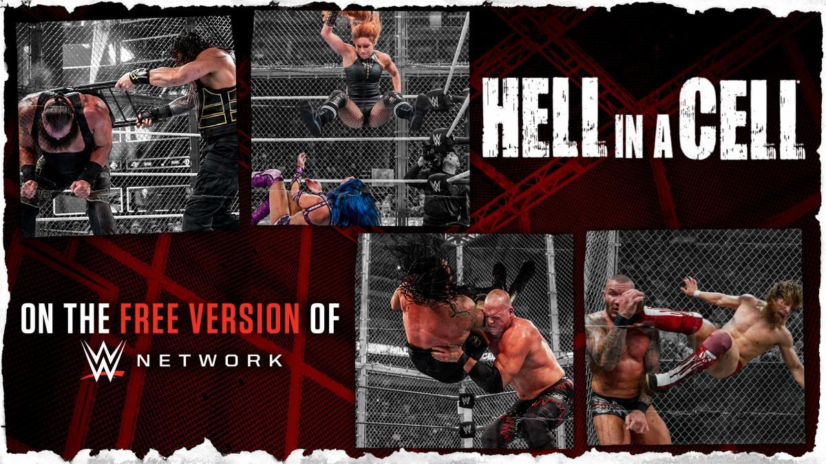 WWE Network libera todos os pay-per-views do Hell in a Cell de forma gratuita