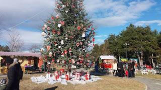 Πάρκο Χριστουγέννων στο Λιτόχωρο 2017