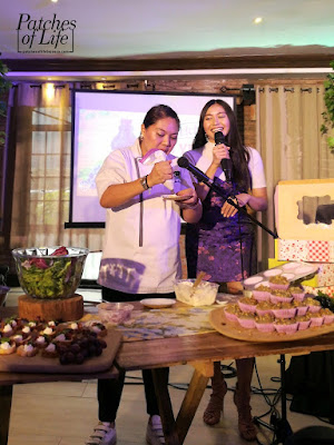 Chef Trisha Ocampo making Crostini using Welch's
