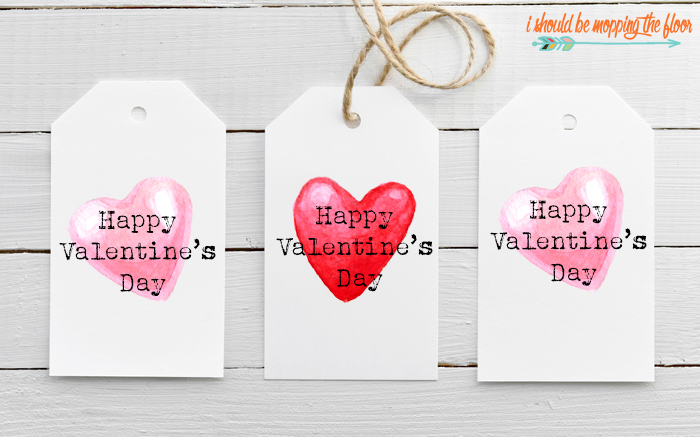 Printable Tags for Valentines