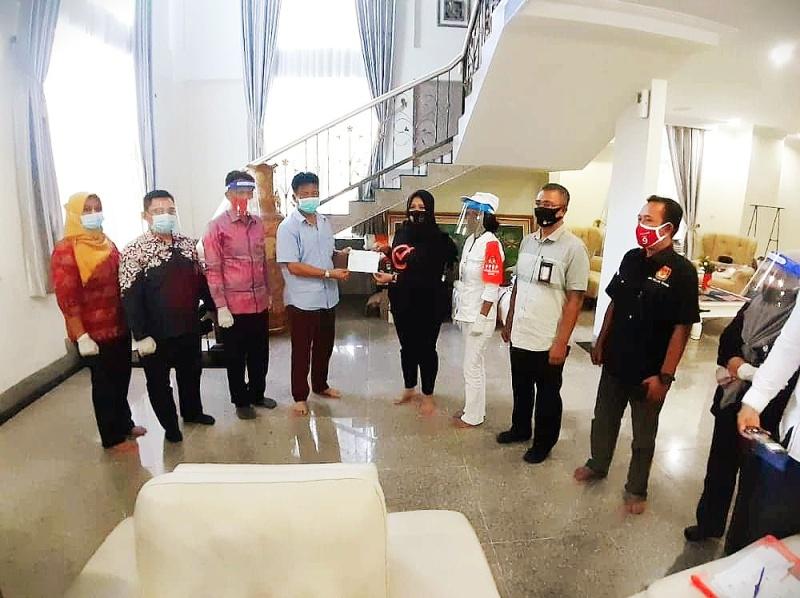 Coklit untuk Pilkada 2020 Dimulai di Kediaman Keluarga Wali Kota Batam Muhammad Rudi