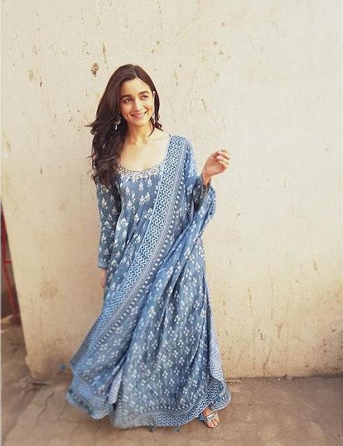Long Dress Maxi Alia bhatt dress