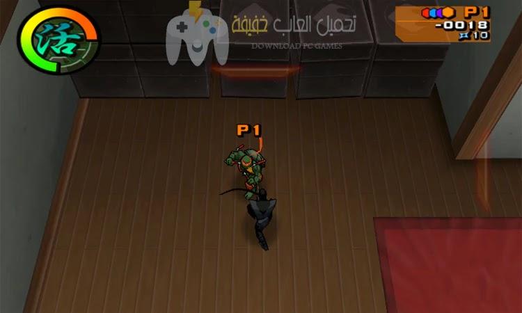 تحميل لعبة سلاحف النينجا 2 برابط مباشر