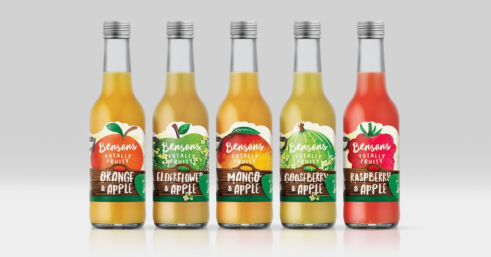 Benson Fruit Juice On Packaging Of The World Creative