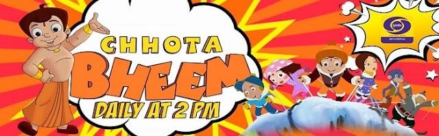 Chhota Bheem Cartoon Show on DD National