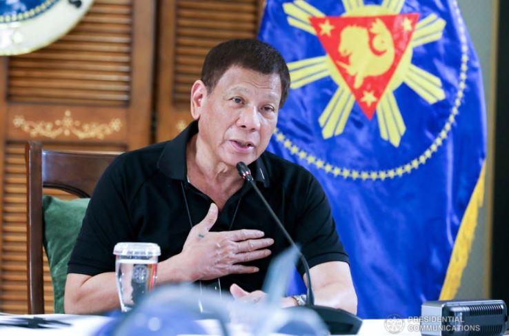 President Rodrigo Roa Duterte in Davao