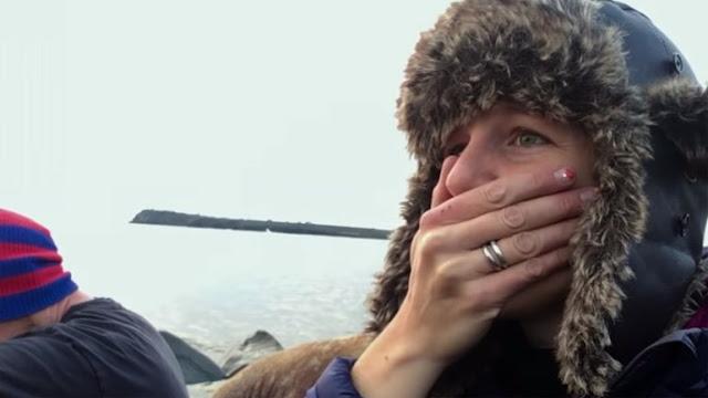 Όταν το τηλεοπτικό συνεργείο ξέσπασε σε κλάματα - Συγκλονιστικό βίντεο για την κλιματική αλλαγή
