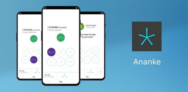 With the new Ananke app, you can perform tasks based on available time