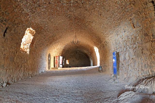 Vestíbulo del Castillo de Calatrava la Nueva