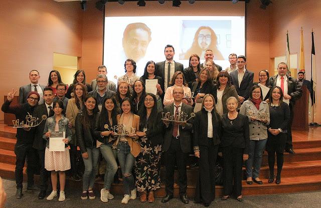 Ganadores Premio Nacional de Periodismo Fernando Quiñones (Foto Prof/Fernando Rincón- U, Santo Tomas)