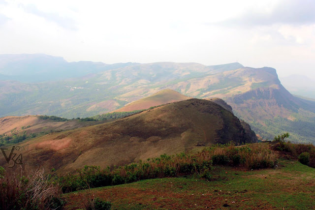 View of BB Hills as seen from Mullayanagiri peak