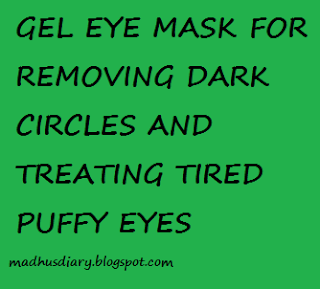 GEL EYE PACK FOR REMOVING DARK CIRCLE AND TIRED EYES