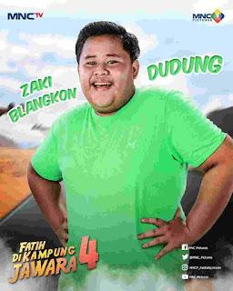 Biodata Lengkap Zaki Blangkon Bobowow Main Fatih di Kampung Jawara Pemeran Dudung